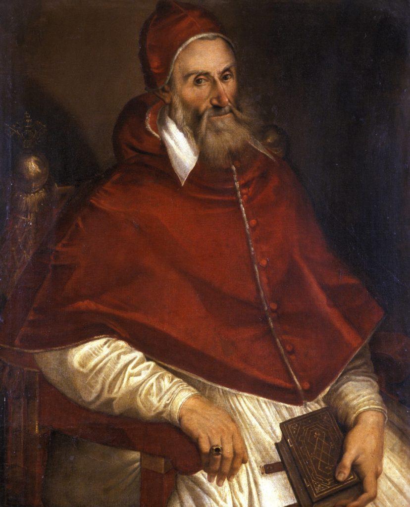 Retrato del Papa Gregorio