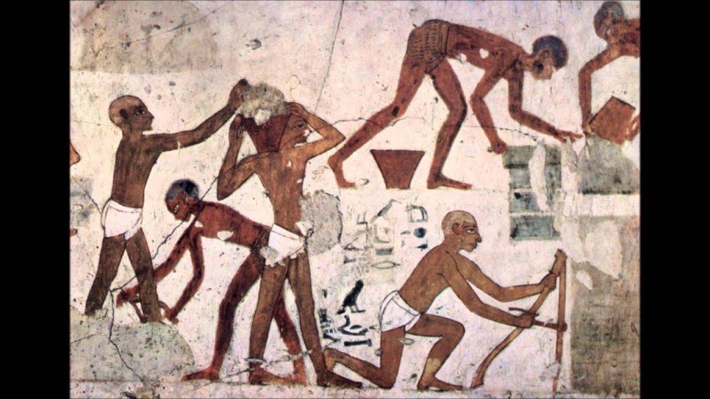 Manufacturanto en Egipto. Como el pan