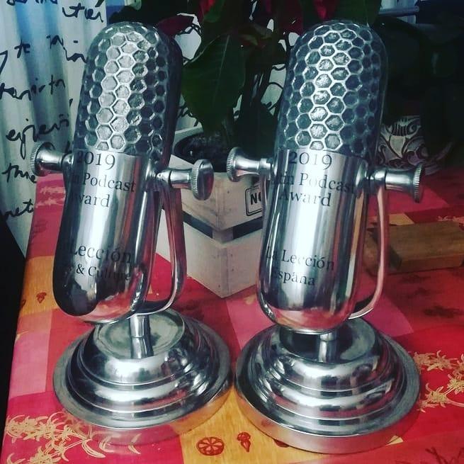 Latin Podcast Award. Mejor Podcast Sociedad y Cultura y Mejor Podcast España